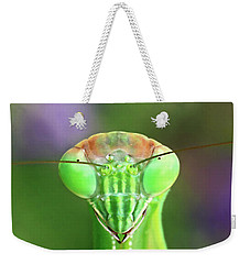 Mantis Stare-down Weekender Tote Bag