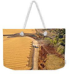 Many Acres To Harvest Weekender Tote Bag