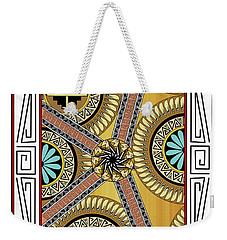 Many Circles Weekender Tote Bag