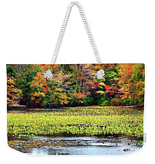 Many Colors Of Autumn Weekender Tote Bag