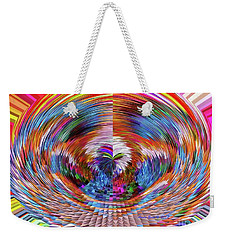 Many Colors Of Love  Weekender Tote Bag by Annie Zeno