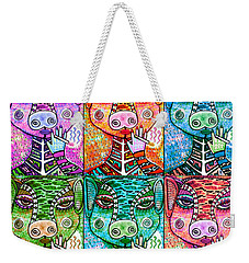 Many Smoking Pigs Weekender Tote Bag