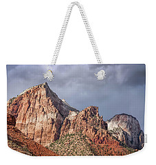 Weekender Tote Bag featuring the photograph Many Splendored Zion by John M Bailey