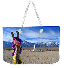 Manzanar Weekender Tote Bag by Nature Macabre Photography