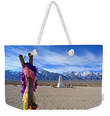 Manzanar Weekender Tote Bag