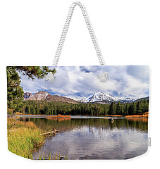 Weekender Tote Bag featuring the photograph Manzanita Lake - Mount Lassen by James Eddy