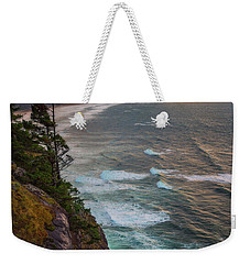 Weekender Tote Bag featuring the photograph Manzanita Sun by Darren White
