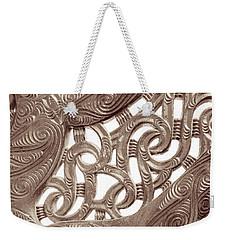 Maori Abstract Weekender Tote Bag