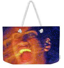 Maori Dancer 12 X 16 Weekender Tote Bag