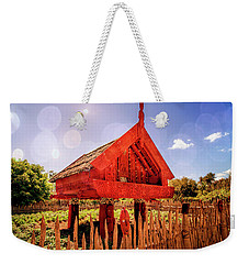 Maori Gathering Place Weekender Tote Bag