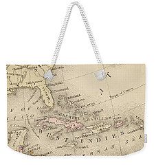 Map Weekender Tote Bag