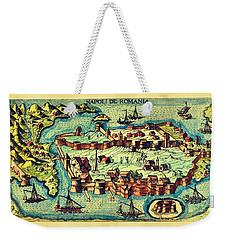 Map Seaport Weekender Tote Bag