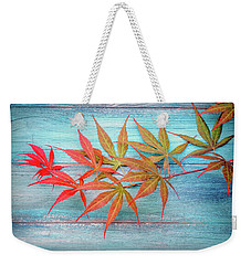 Maple Colors Weekender Tote Bag