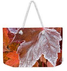 Maple Frost  Weekender Tote Bag