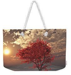 Maple Weekender Tote Bag