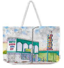 Maple Liquor In Hawthorne Blvd, Los Angeles, California Weekender Tote Bag