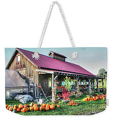 Maple Sugar House Weekender Tote Bag