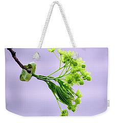 Maple Tree Flowers Weekender Tote Bag