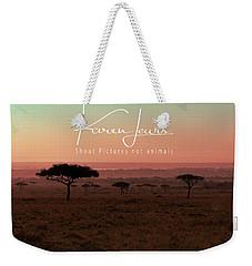 Mara Blushing Dawn Weekender Tote Bag by Karen Lewis