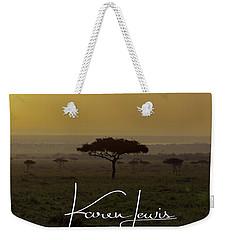 Mara Sunrise Weekender Tote Bag by Karen Lewis