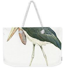 Marabou Weekender Tote Bag by Juan Bosco