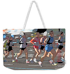 Marathon Runners II Weekender Tote Bag