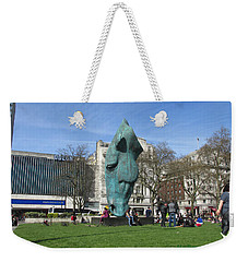 Horse Sniffing The Tourists Farts - Hyde Park Corner 01 - London  Weekender Tote Bag