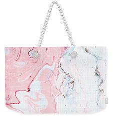 Marble Love Weekender Tote Bag
