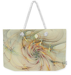 Marble Spiral Colors Weekender Tote Bag