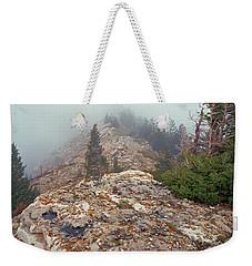 Marble View Fog-sq Weekender Tote Bag