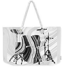 Marbled Music Art - Drums - Sharon Cummings Weekender Tote Bag by Sharon Cummings