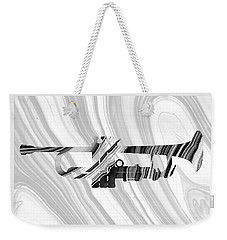 Marbled Music Art - Trumpet - Sharon Cummings Weekender Tote Bag by Sharon Cummings