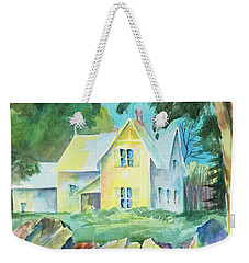 Marblehead Cottage Weekender Tote Bag