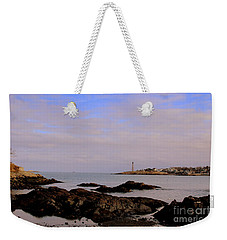 Marblehead Harbor And Light Weekender Tote Bag