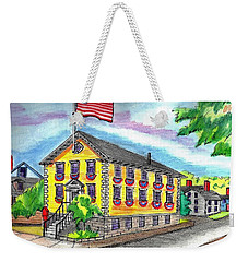 Marblehead Icon Weekender Tote Bag by Paul Meinerth
