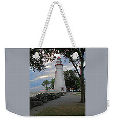 Weekender Tote Bag featuring the photograph Marblehead Ohio by Angela Murdock