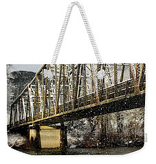 Marblemount Wa Bridge Weekender Tote Bag