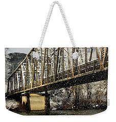 Marblemount Wa Bridge Weekender Tote Bag