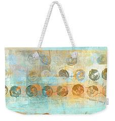 Marbles Found Number 3 Weekender Tote Bag by Carol Leigh