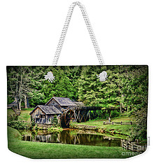 Weekender Tote Bag featuring the photograph Marby Mill Landscape by Paul Ward