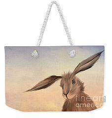 March Hare Weekender Tote Bag by John Edwards