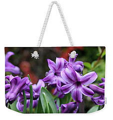 March Hyacinths Weekender Tote Bag