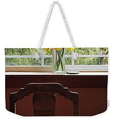March Weekender Tote Bag by Laurie Stewart