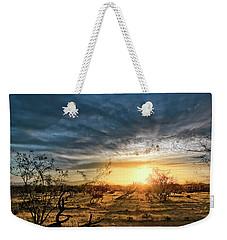 March Sunrise Weekender Tote Bag