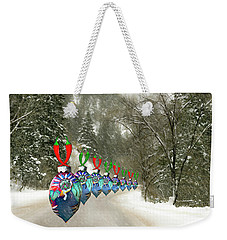 Marching Ornaments Chili Peppers Weekender Tote Bag