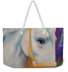 Mardi Gras Horse Weekender Tote Bag
