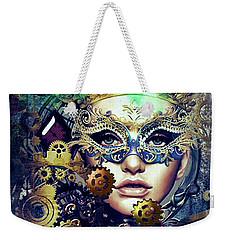 Mardi Gras Mask Weekender Tote Bag