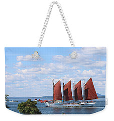 Weekender Tote Bag featuring the photograph Margaret Todd by Living Color Photography Lorraine Lynch