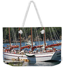 Weekender Tote Bag featuring the photograph Margaret Todd On A Sunny Day by Living Color Photography Lorraine Lynch