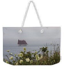 Margaret Todd Sailing On A Foggy Evening Weekender Tote Bag